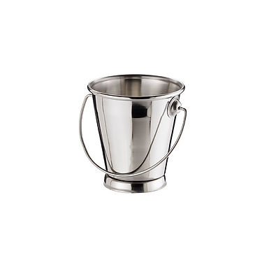 Bucket Leone, Stainless Steel, 1 pc, 9x9cm