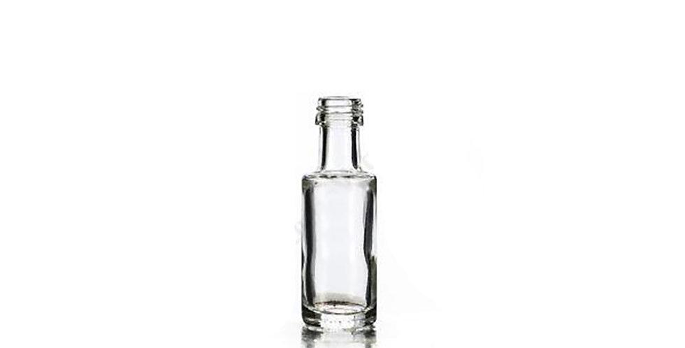 Bottle Dorica, Glass, Clear, 20ml, 18x15