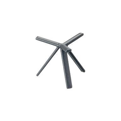 Buffet Stand Leone, Anti Skid Coated S. Steel, Grey, 1 pc, 15x15cm