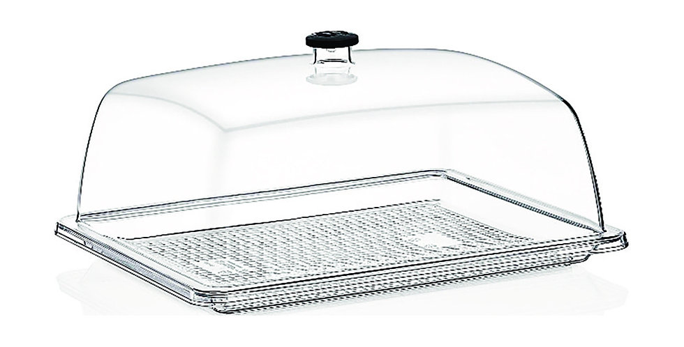 Buffet Tray, Rectangle, Polycarbonate, 26x32.5cm