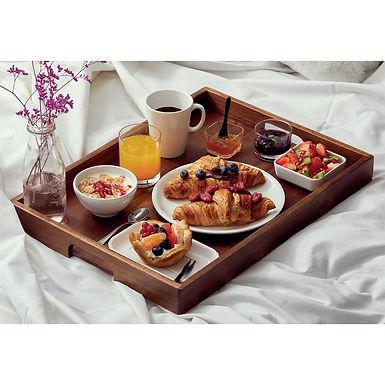 Breakfast Tray Leone, Acacia, 52x38x5cm
