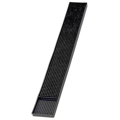 Bar Mat Leone, Rubber, Black, 1 pc, 60x8cm