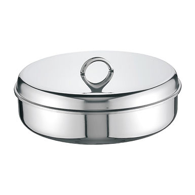 Baking Pan with Lid Super Casa, Round, Inox 18/C, Ø36cm