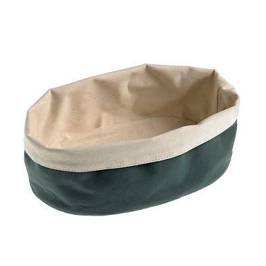 Bread Basket Leone, Cotton, Brown, 1 pc, 25x18x9cm