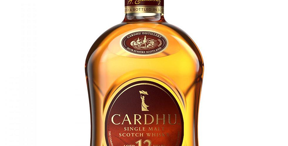 Cardhu Aged 12 Years Scotch Whisky, 700ml