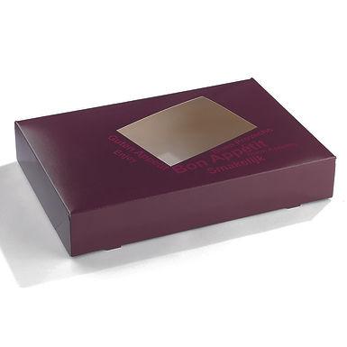 Cardboard Box for Platters Sabert, 36x25x8cm