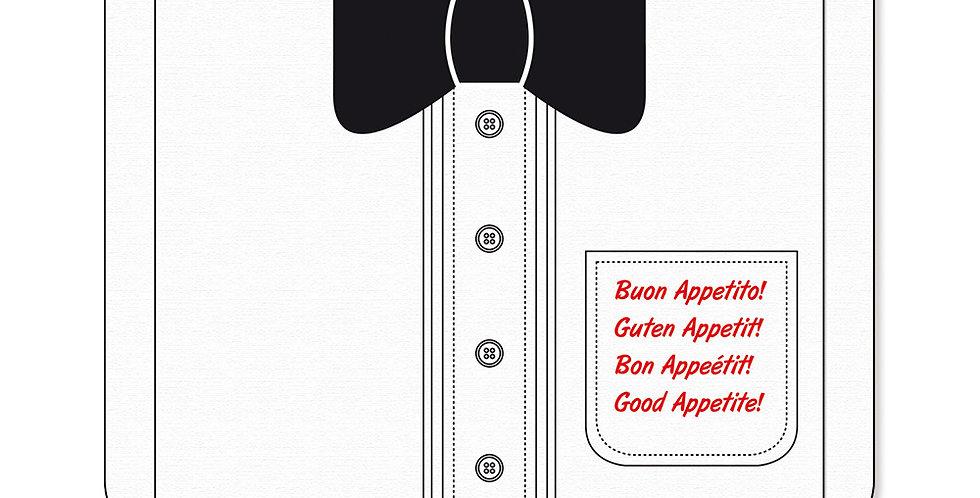 Bow Bib Leone, TNT, 100 pcs, 37x40cm