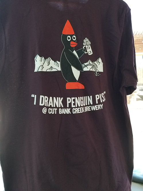 Penguin Piss T-shirt - ask for color choices