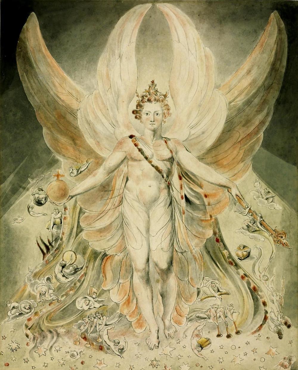 Satana in gloria- William Blake