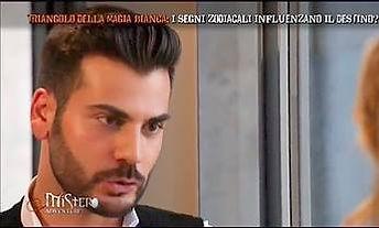 Andrea Pellegrino a mistero su italia 1