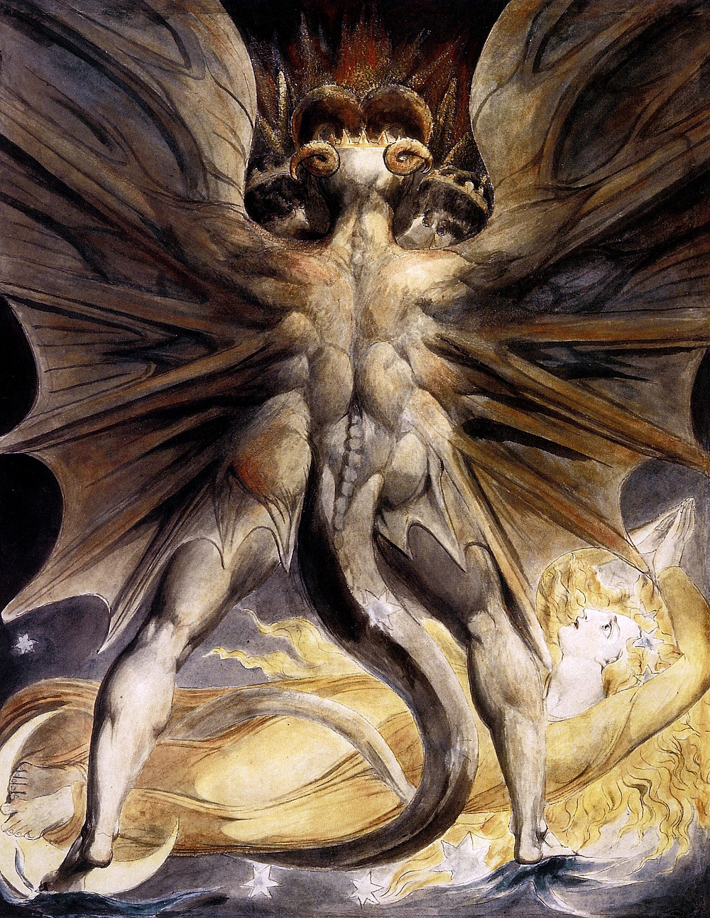 The Great Red Dragon - William Blake
