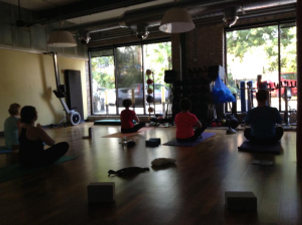 Cheetah Gym    - Sunrise Yoga.