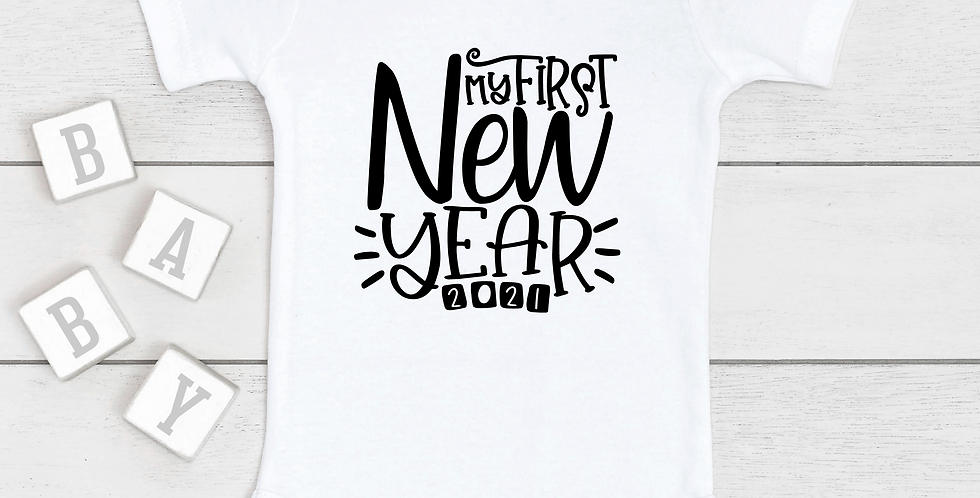 My First New Year 2021 Onesie ®