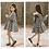 Thumbnail: Black and White Plaid Dress