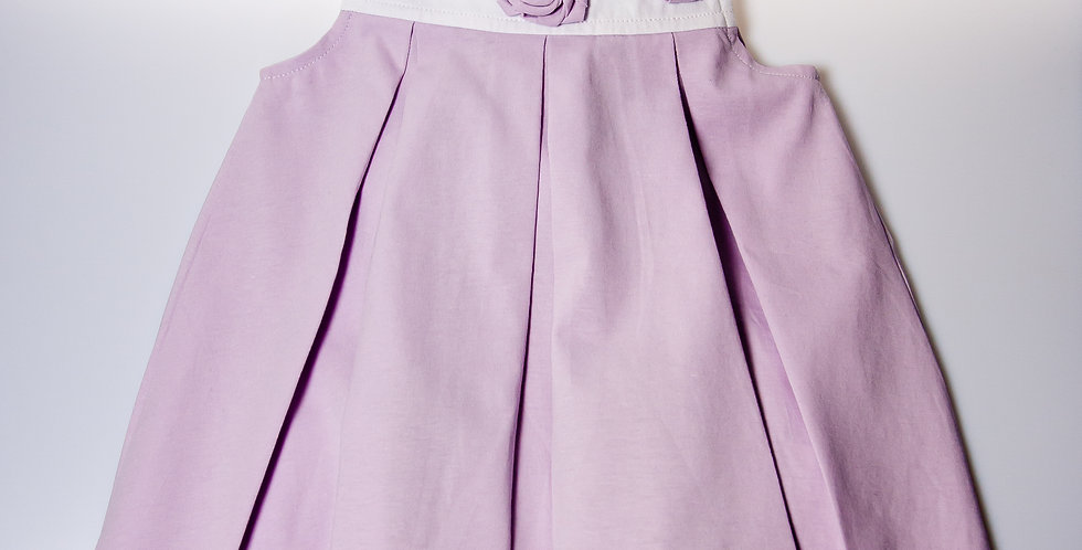 Sleveless Rose Petal Dress