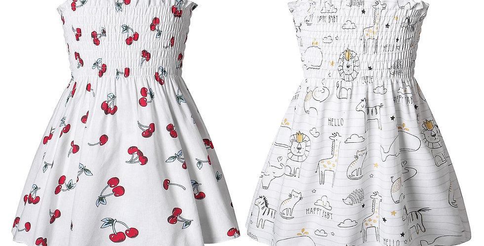 Fruit or Animal Print Slip Dress