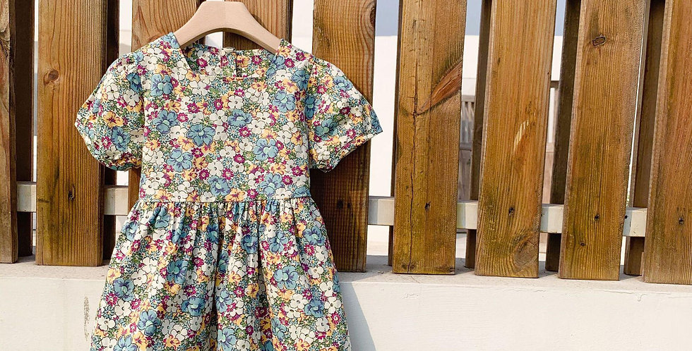 Floral Girl's Dress for Toddlers