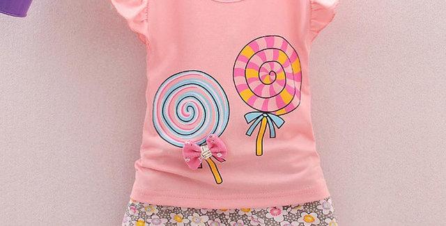 2 Piece Shirt and Shorts Set