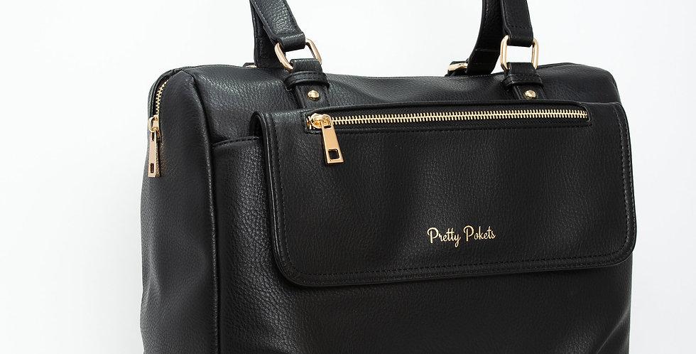Diaper Bag Purse (Bundle)  - Black