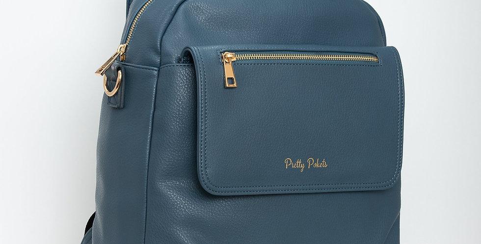 Shayla Diaper Bag Backpack -Blue (Bundle)