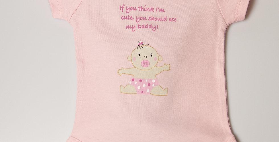 Cute as Daddy Bodysuit