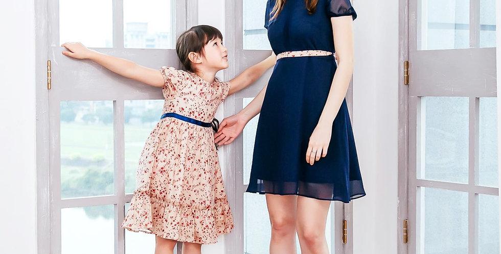 (Mommy & Me) Floral dress (set of 2)