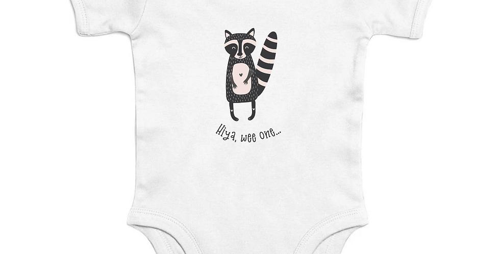 Wee One Short Sleeve Organic Baby Bodysuit