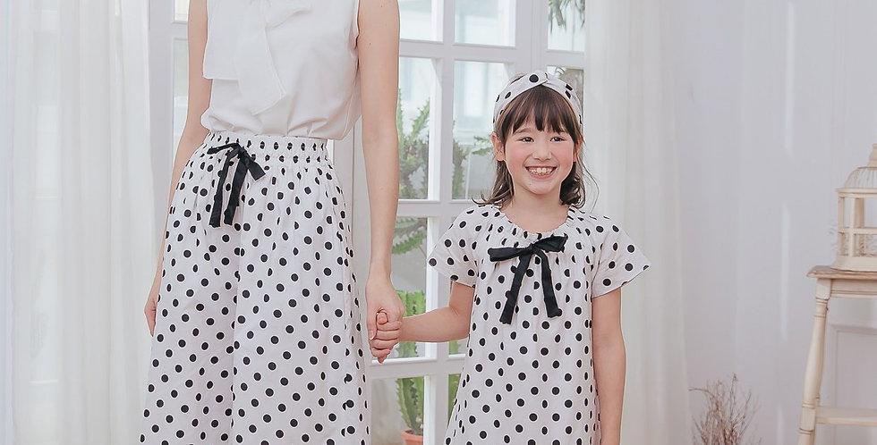 Merry Bubble Matching Cotton Culottes/Dress