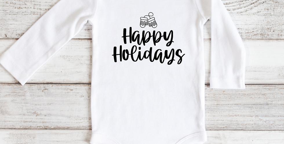 Happy Holidays (Mittens)