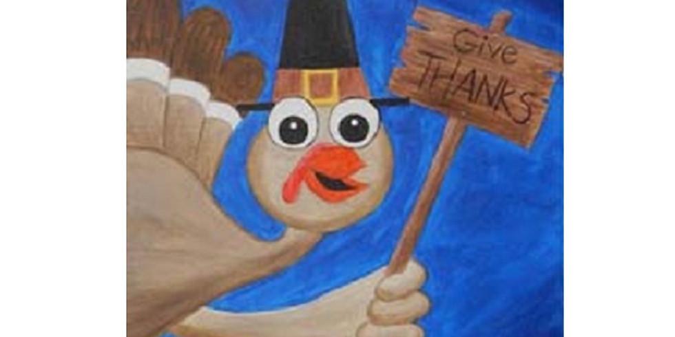 Kids' Canvas Class, Wednesday, 11/27/19
