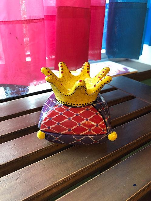 Pottery - Crown Box