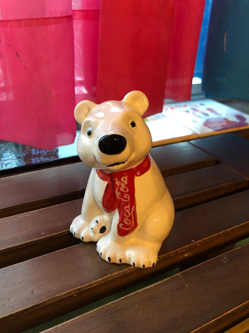 Pottery - Coca-Cola Polar Bear 4.5""