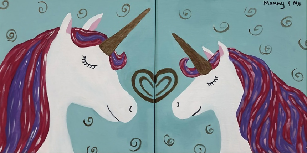 Mommy & Me Canvas Class - Wednesday, 3/31/21
