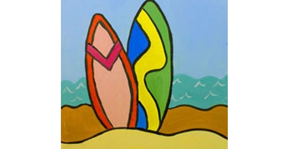 Kids' Canvas Class, Thursday, 7/15/21