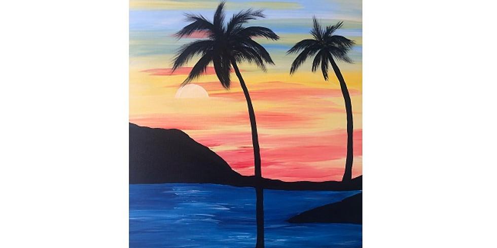 Paint Night at The HONU Restaurant! 11/13/19