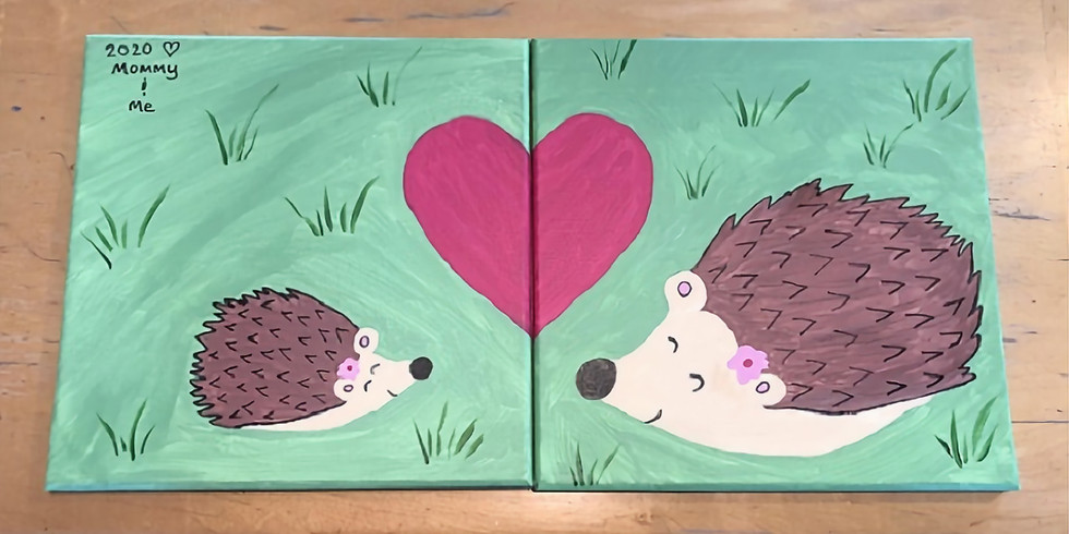 Mommy & Me Canvas Class - Saturday, 10/3/20