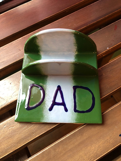 Pottery - Dad Business Card Holder