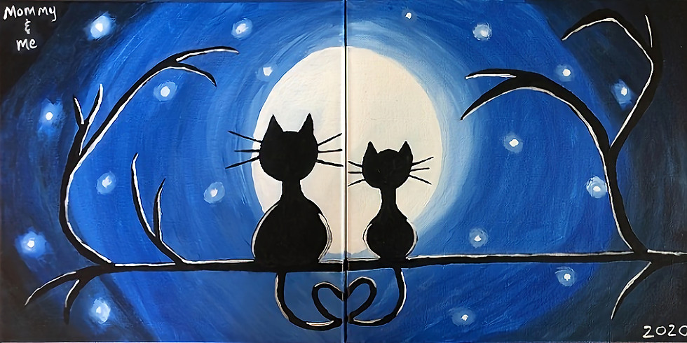 Mommy & Me Canvas Class - Tuesday, 10/20