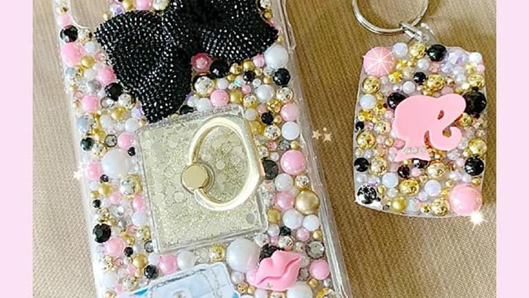 Bling Phone Case& Key Chain Set