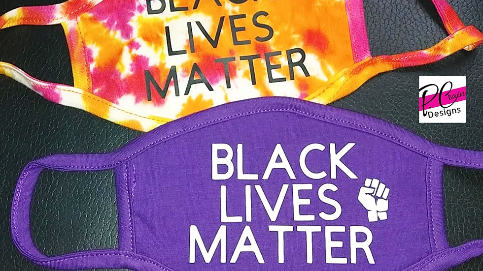 Black Lives Matter Inspired Mask