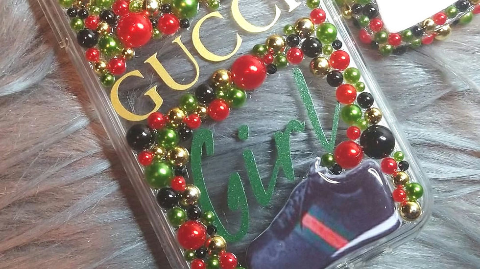 Red Green Black Gold iPhone 11 Max Pro Case