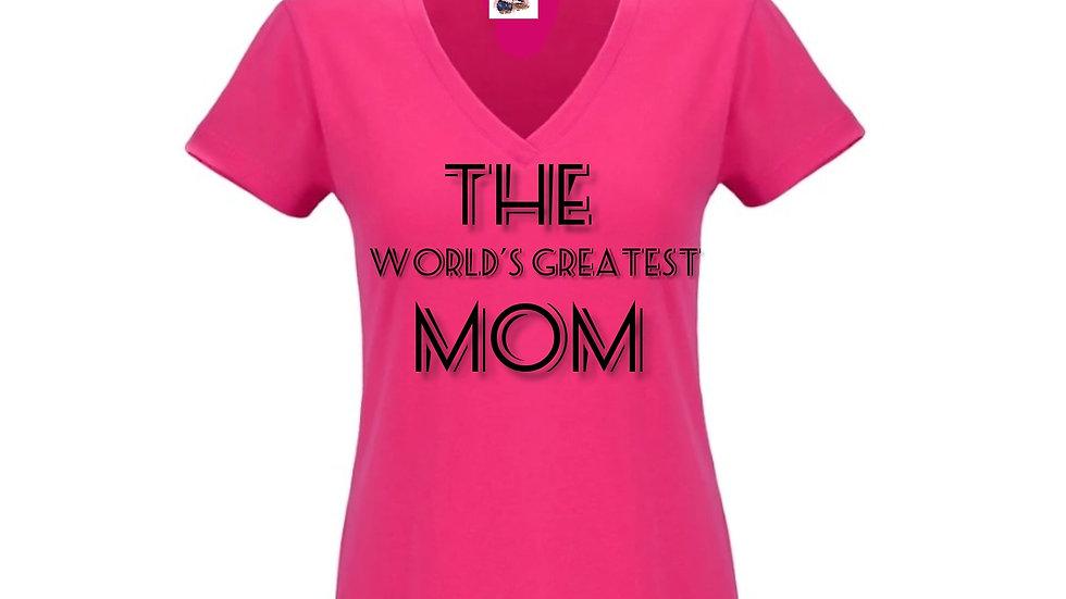 The World's Greatest Mom Tee