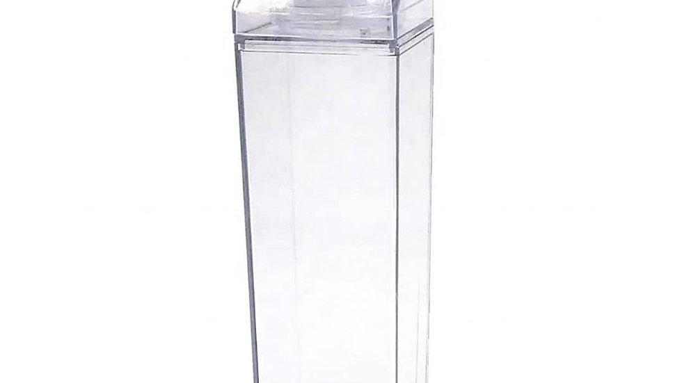 Clear Milk Carton Water Bottle