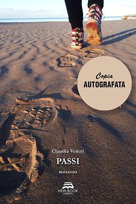 Passi (Copia autografata con dedica e lettera inedita)