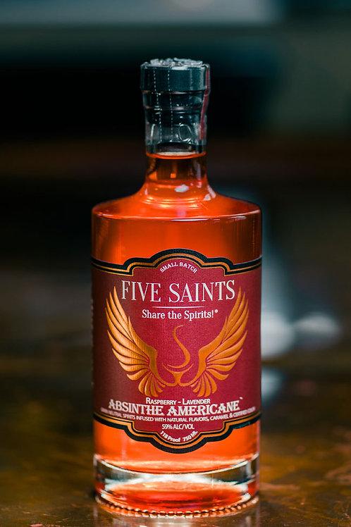 Five Saints Raspberry - Lavender Absinthe Americane'