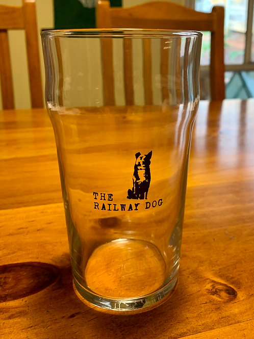 The Railway Dog Pint Glass