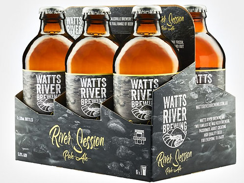 Watts River RIVER SESSION PALE ALE x 6