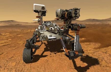 Mars Rover Touches Down