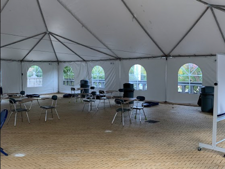 Tents are the New Classrooms: Hybrid FCS