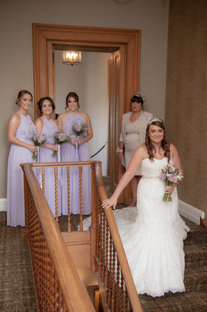 Bride, Bridesmaids, Mother of the Bride, Bridal Party Arrival